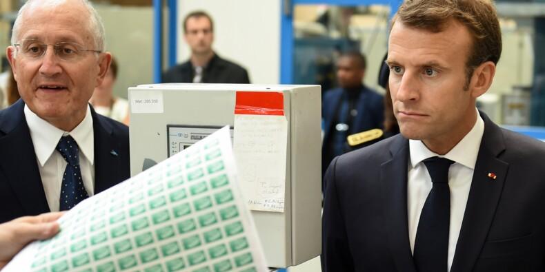 En Dordogne, Macron esquive l'affaire Benalla