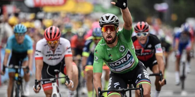 Tour de France: nouvelle victoire de Sagan