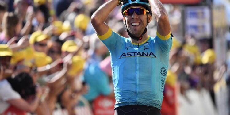 Tour de France: Fraile gagne, les Français peinent