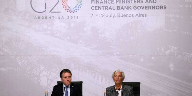 Le bras de fer commercial perdure, alerte du G20 pour la croissance