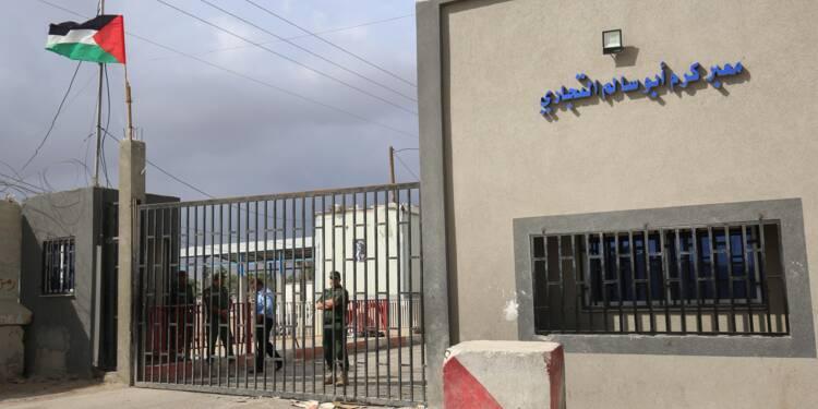 Gaza: Israël rouvre en partie le terminal pour les marchandises