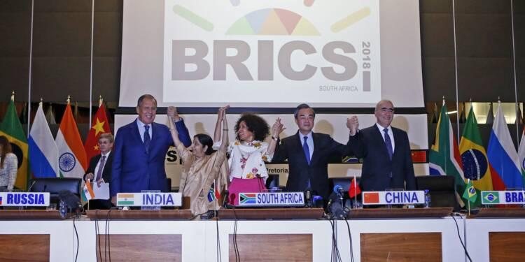 """La """"guerre commerciale"""" de Trump au coeur du sommet des Brics"""