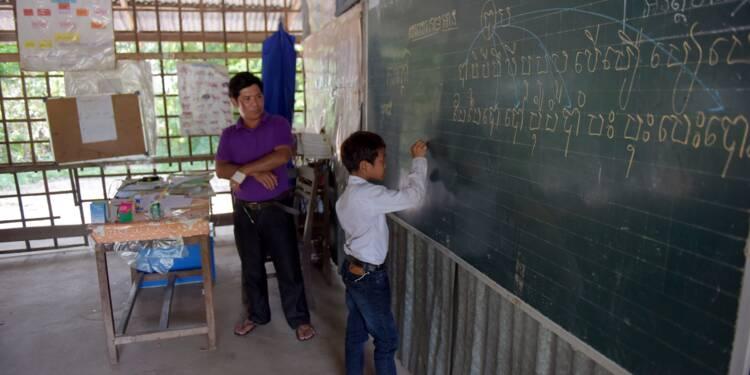 Au Cambodge, l'éducation, outil de propagande électorale