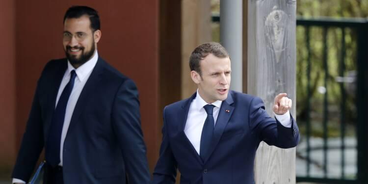 """Affaire Benalla : Emmanuel Macron affirme être le """"seul responsable"""" et ne veut pas d'un """"fusible"""""""