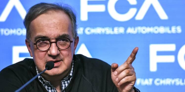 Sergio Marchionne, le patron à poigne qui a sauvé Fiat