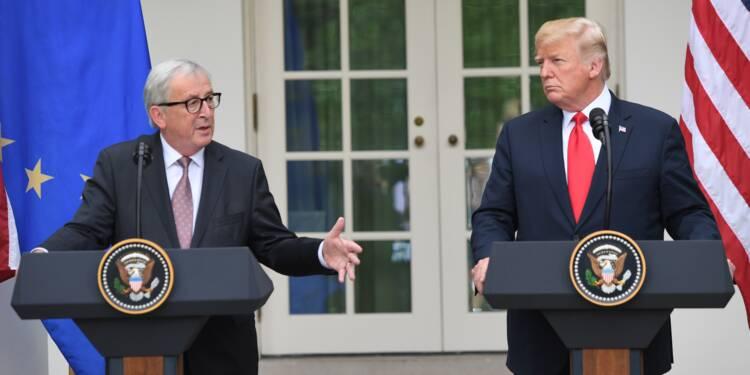 Guerre commerciale : enfin l'apaisement entre les Etats-Unis et l'Europe ?