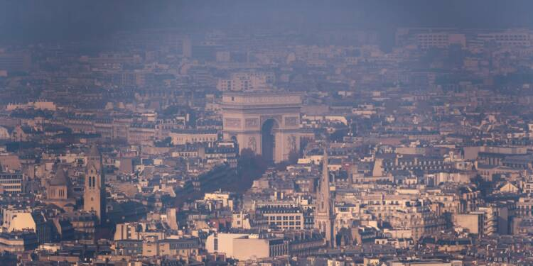 Pollution à l'ozone en Ile-de-France: les véhicules polluants de nouveau interdits de circulation vendredi