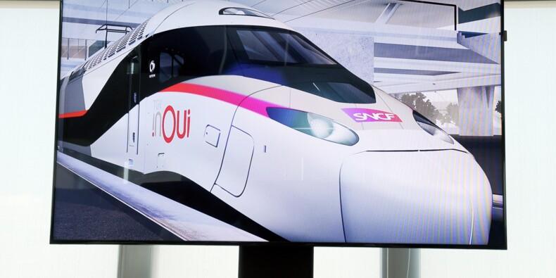 """La SNCF commande à Alstom une centaine de """"TGV du futur"""""""