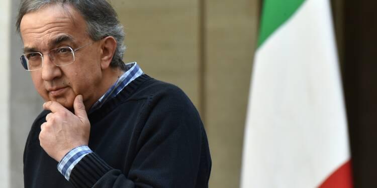 Le patron de Fiat Sergio Marchionne était gravement malade depuis plus d'un an selon l'hôpital