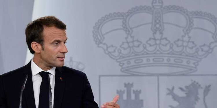 Emmanuel Macron est contre un vaste accord commercial entre l'Union européenne et les Etats-Unis