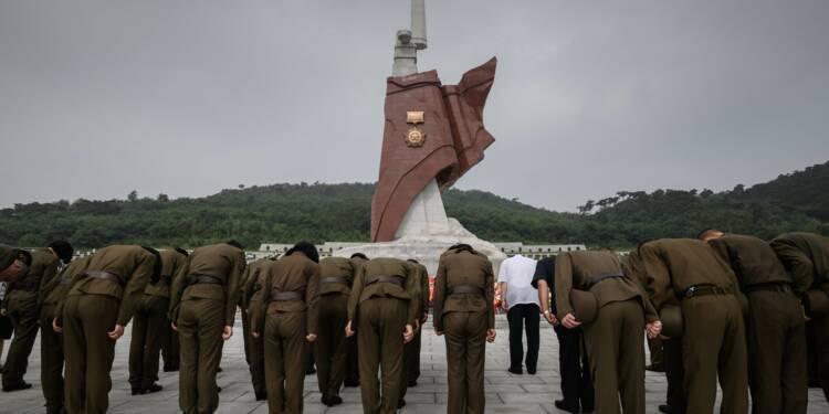 Pyongyang marque la fin de la guerre, des dépouilles américains sur le chemin du retour