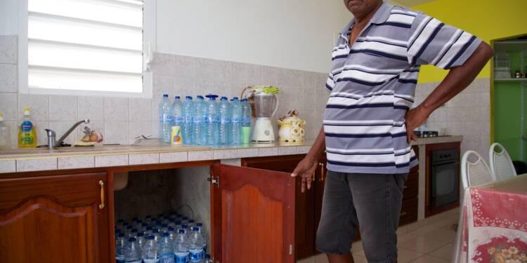En Guadeloupe, l'eau courante n'existe pas