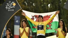 """Tour de France: Geraint Thomas remplace Chris Froome en haut des """"Champs"""""""