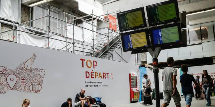 Montparnasse: les deux tiers du trafic garantis mardi