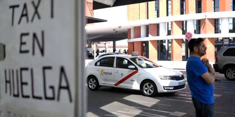 Espagne : une grève des taxis contre les VTC s'étend