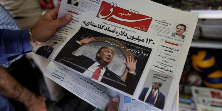 Fébrilité en Iran à l'approche des nouvelles sanctions américaines