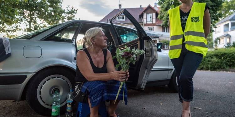 A Strasbourg, l'été reste un calvaire pour les sans-abri