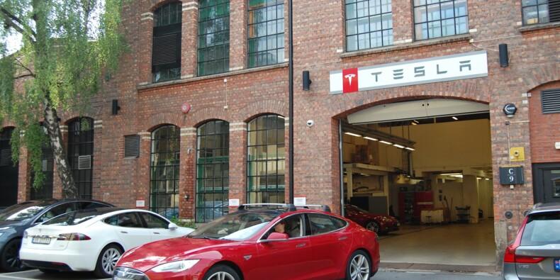 Griefs en batterie contre Tesla en Norvège
