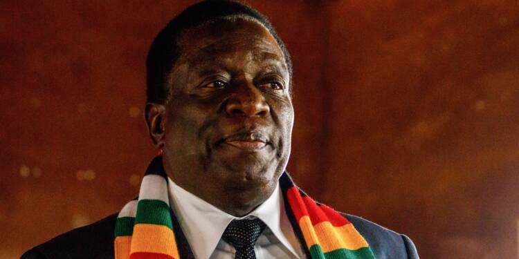 """Zimbabwe: le président Mnangagwa appelle à résoudre """"pacifiquement les différends"""" avec l'opposition"""