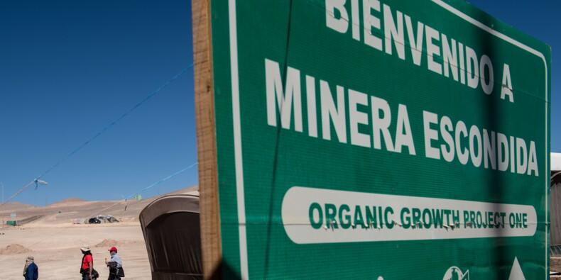 Chili: grève votée à Escondida, plus grande mine de cuivre au monde (syndicats)