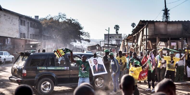 Zimbabwe: Emmerson Mnangagwa élu président, l'opposition rejette les résultats