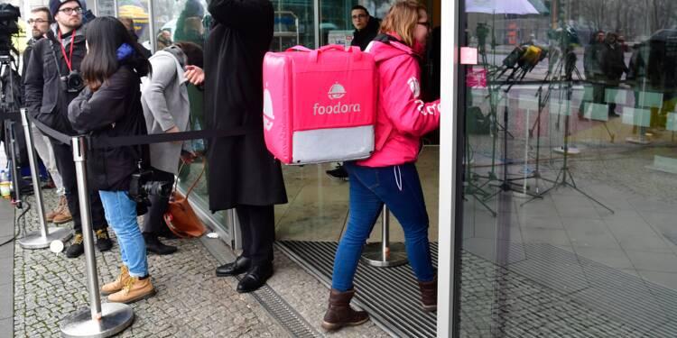 """Foodora cessera son activité en France le 29 septembre """"au plus tard"""""""