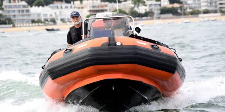"""""""Votre permis, s'il vous plaît"""": en mer aussi, il faut respecter les règles"""