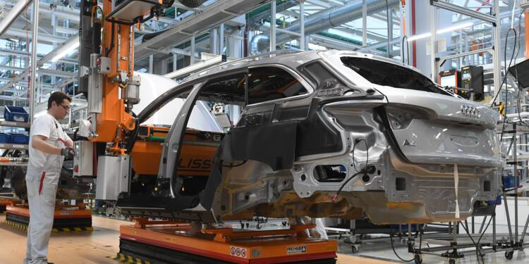 Allemagne: les tensions commerciales plombent les commandes industrielles