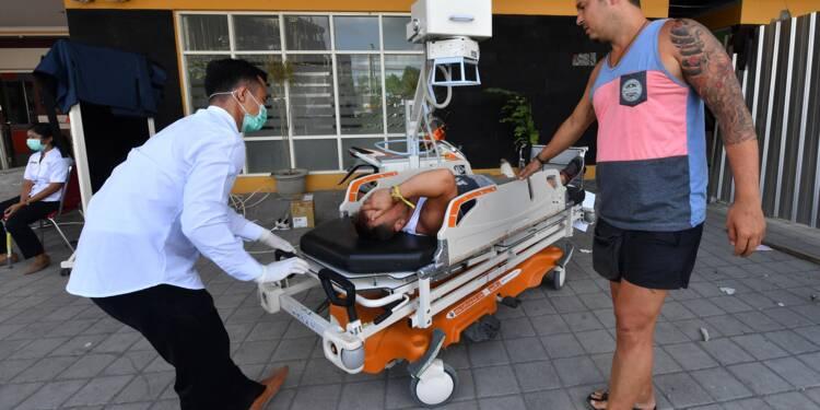 Indonésie/séisme: environ 1.200 touristes en cours d'évacuation