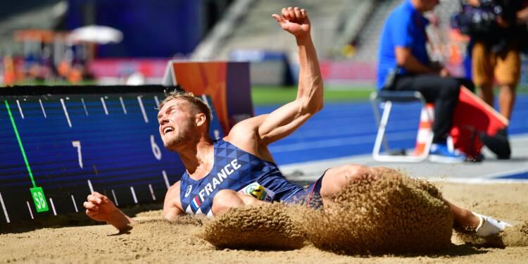 Athlétisme: Mayer échoue à la longueur du décathlon et perd toute chance de titre