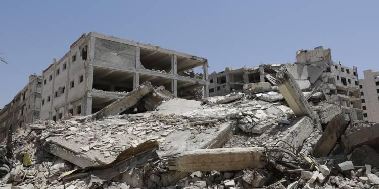 Guerre en Syrie: près de 400 milliards de dollars de destructions selon l'ONU