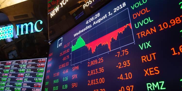 Wall Street en baisse, affectée par la Turquie