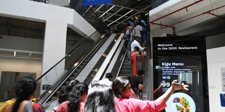"Entre ""Billy"" et biryani, Ikea débarque en fanfare en Inde"