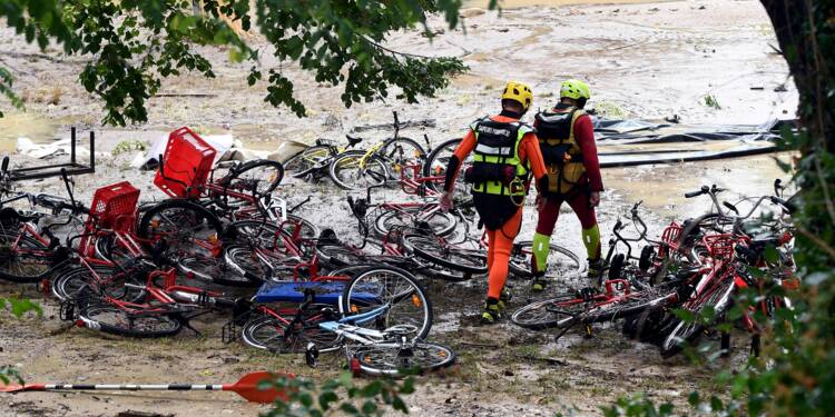 Gard: deux gardes à vue dans l'enquête sur la colonie allemande inondée