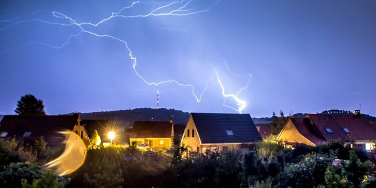 18 départements de la moitié nord en vigilance orange pour des orages