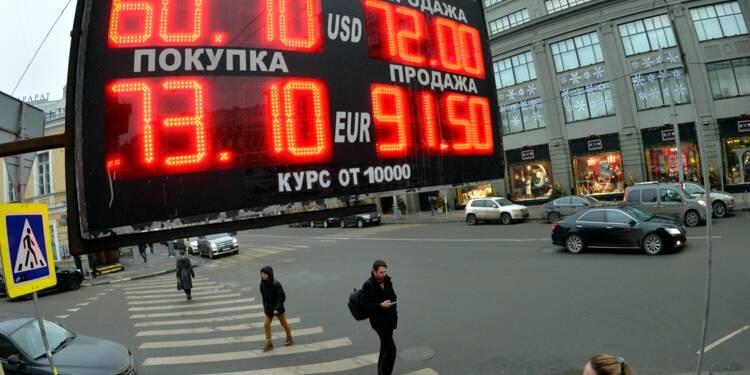 Coup de froid sur les marchés russes après les sanctions américaines