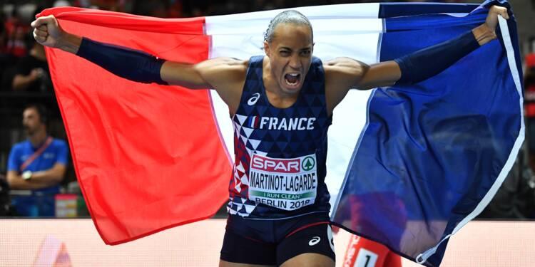 Euro d'athlétisme: Pascal Martinot-Lagarde, l'or à un fil au 110 m haies