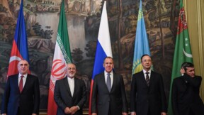 Convention sur le statut de la mer Caspienne signée par ses cinq pays riverains