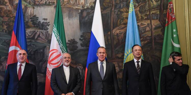 Accord historique sur le statut de la mer Caspienne