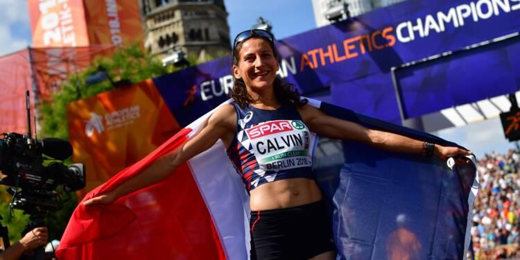 Marathon: Calvin en argent derrière la Bélarusse Mzuronak aux Championnats d'Europe