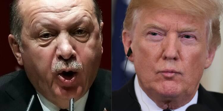 """Syrie : Donald Trump se dit prêt à """"dévaster"""" l'économie de la Turquie"""