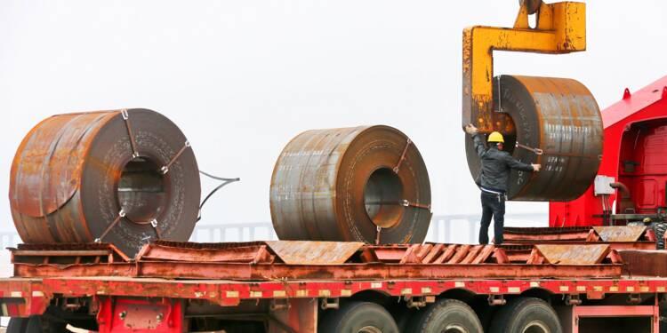 Chine: production record d'acier brut en juillet, dopée par l'envolée des prix