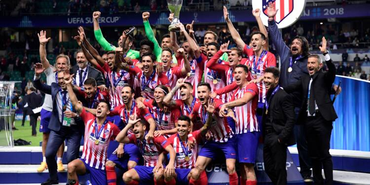 "Supercoupe d'Europe: l'Atlético remporte le ""super-derby"" face au Real"