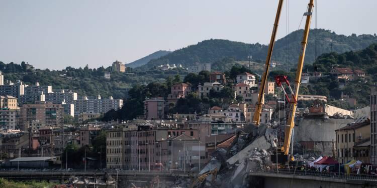 Pont effondré à Gênes: encore 10 à 20 disparus selon les médias italiens