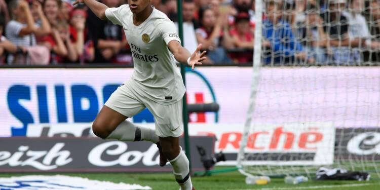 Le PSG vacille mais gagne grâce à Mbappé à Guingamp