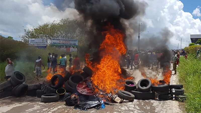 Le Brésil envoie des troupes après des heurts à la frontière vénézuélienne