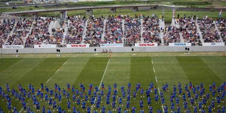 Japon: le Mondial de rugby redonne vie à une ville dévastée par le tsunami
