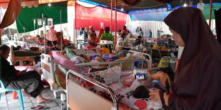 Indonésie: de multiples séismes frappent l'île de Lombok, cinq morts