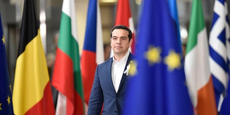 """Grèce: Tsipras marque à Ithaque la fin de """"l'Odyssée"""" des plans d'aide"""