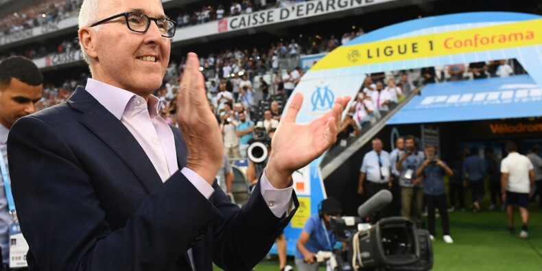 Marseille: encore une fin d'été brûlante pour l'OM de McCourt